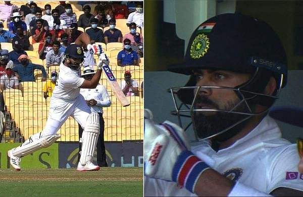 virat_kohli_applause_rohit_in_chennai_test