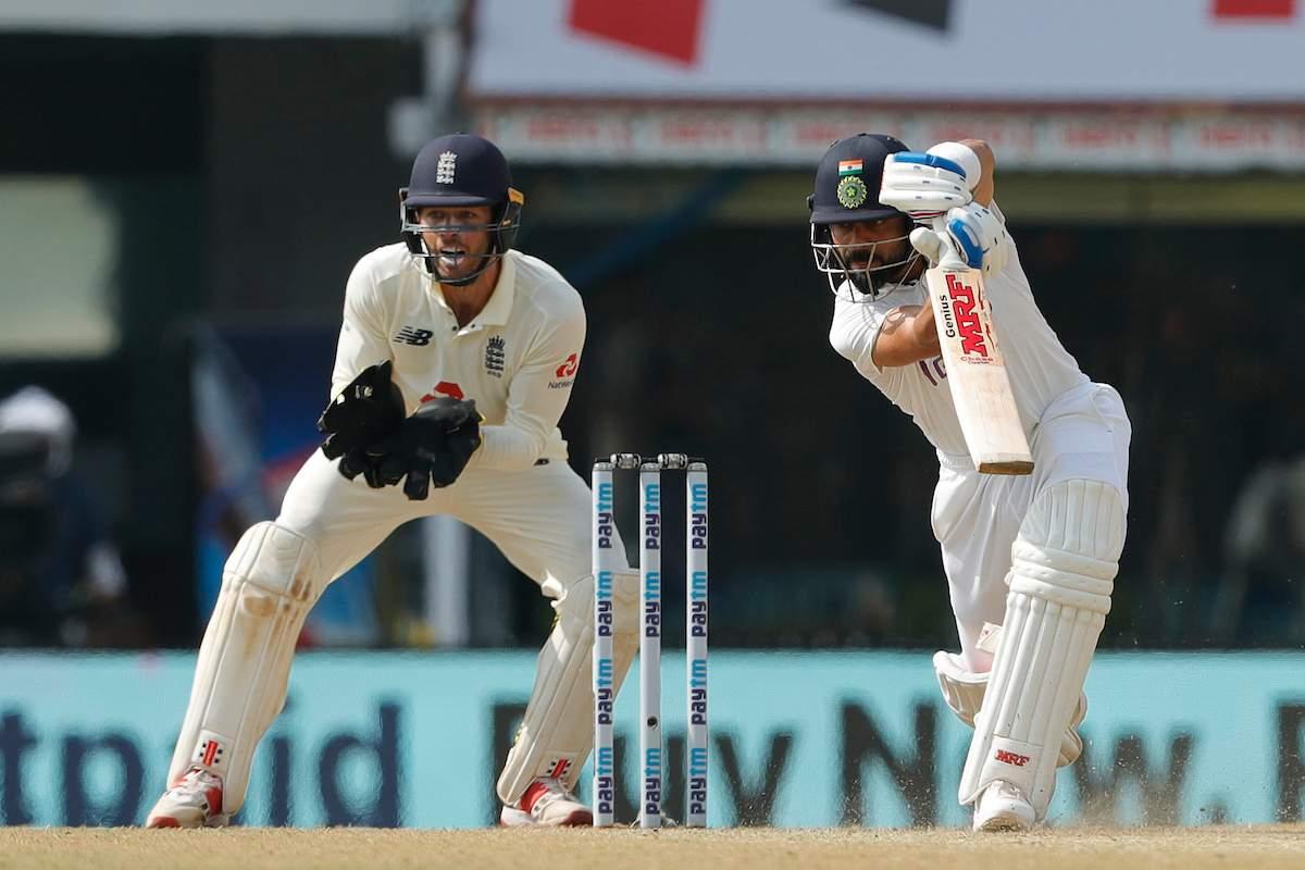 Kohli and Ashwin cross lead 350