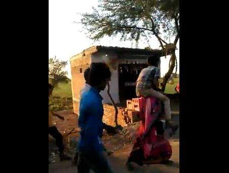 Madhya Pradesh Woman Shamed, Forced To Walk With In Laws On Shoulders