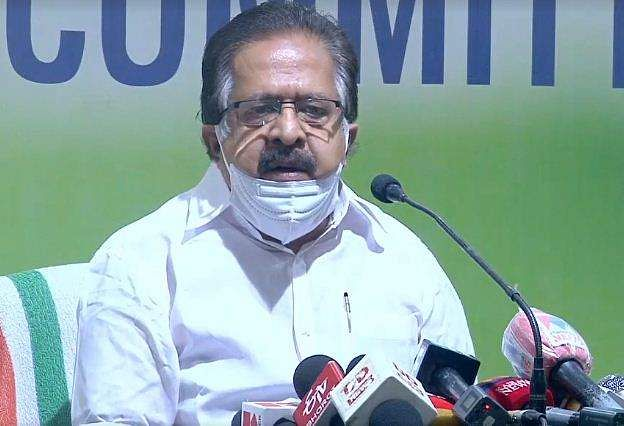 ramesh chennithala against vijayaraghavan