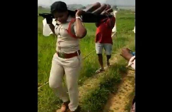 Woman SI carries body of homeless man for 1km