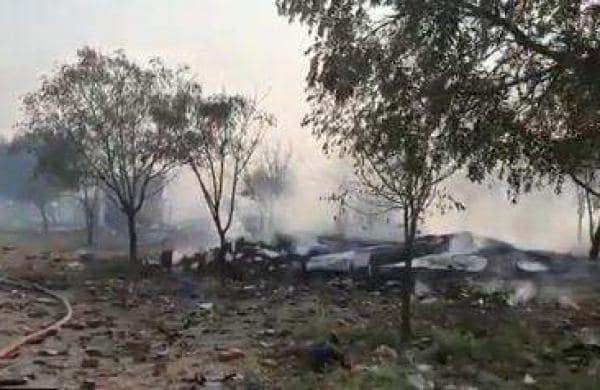 Explosion at Sivakasi fireworks factory
