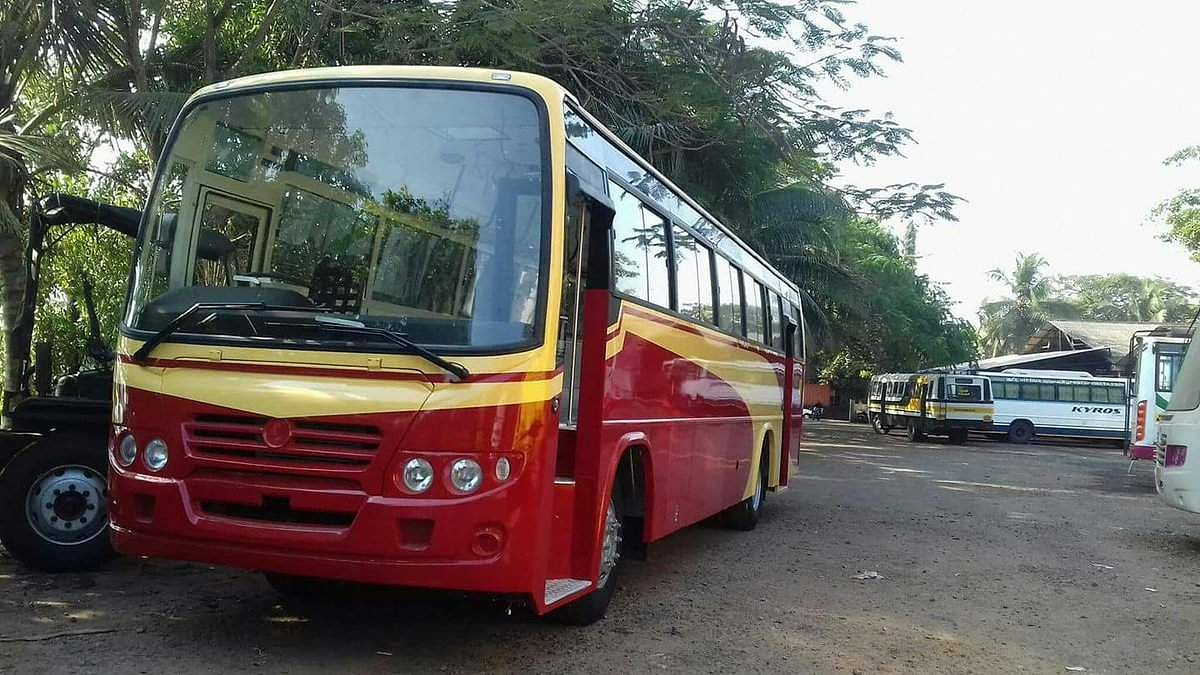 LOST KSRTC bus