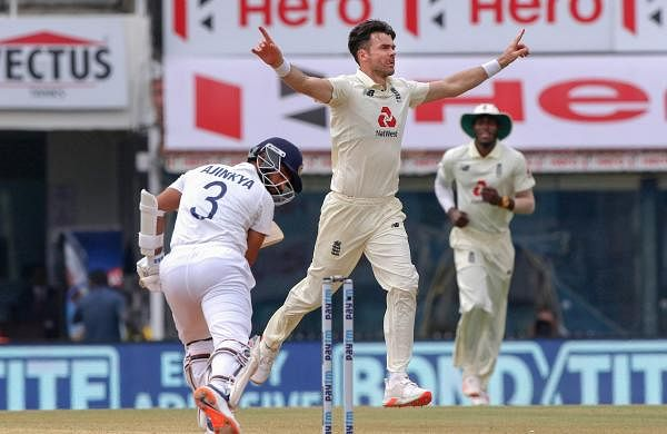 james_anderson_takes_rahanes_wicket