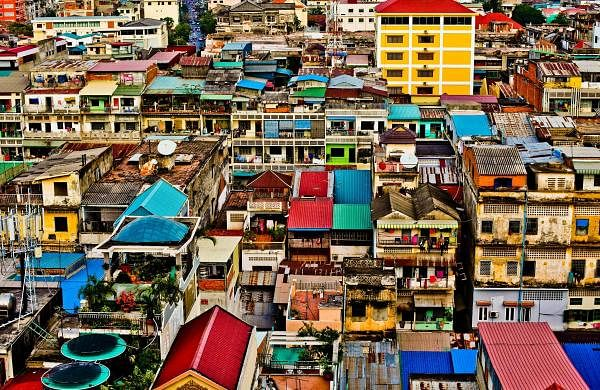 Cambodia; Mysteries on the sidewalks