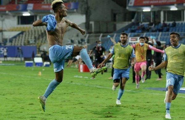 Bipin Singh's goal in the 90th minute