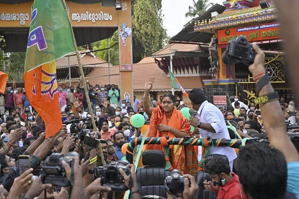 Sobha Surendran candidate