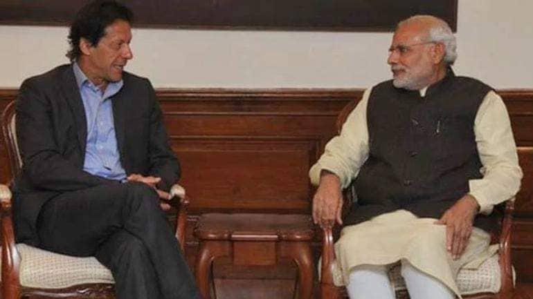 Imran Khan with Mod