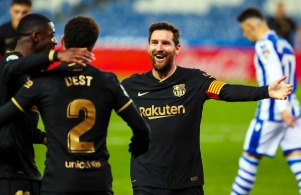 Barcelona appearance record