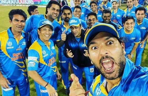 Yuvraj Singh congratulates