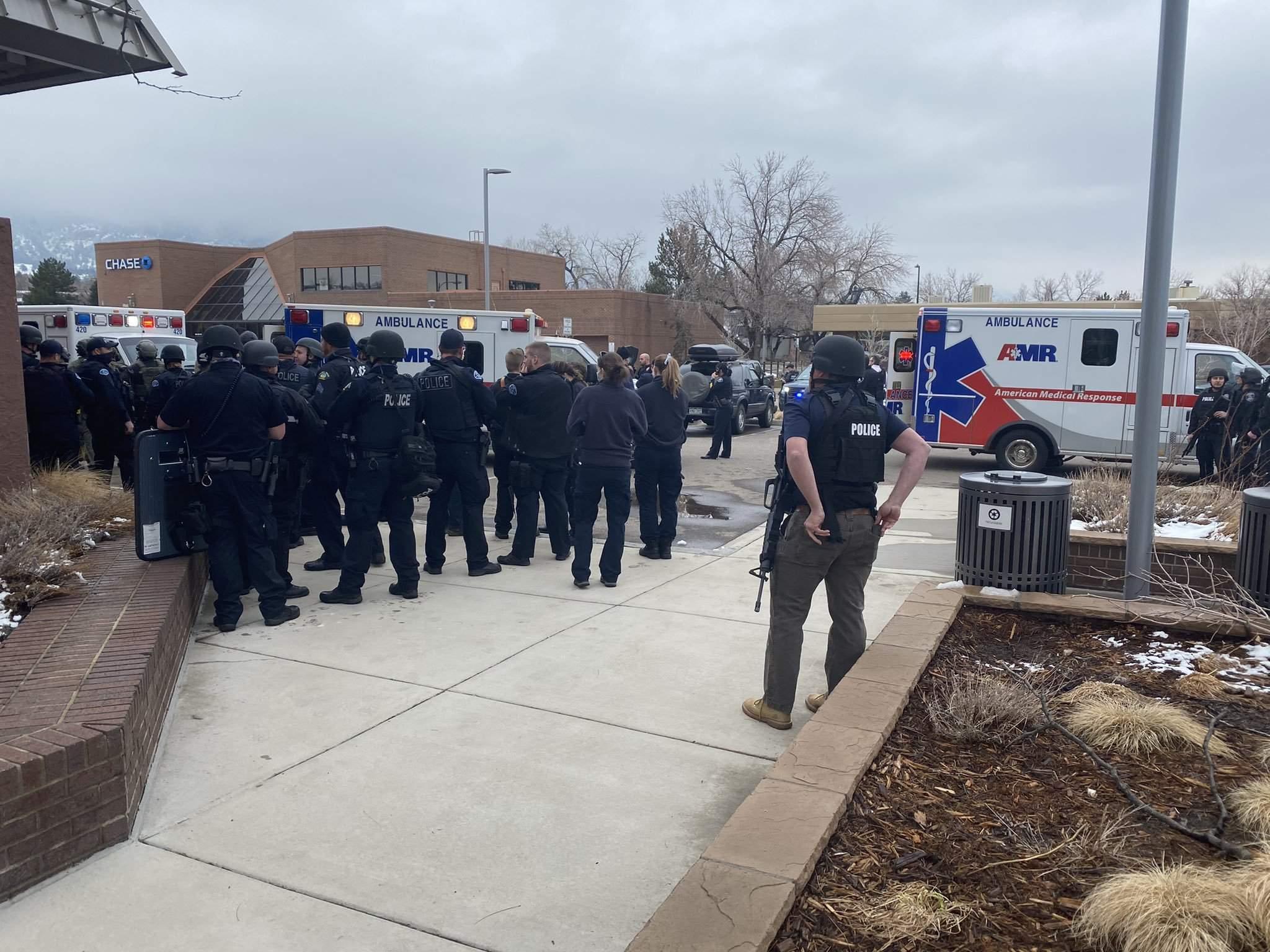 U.S. supermarket shooting