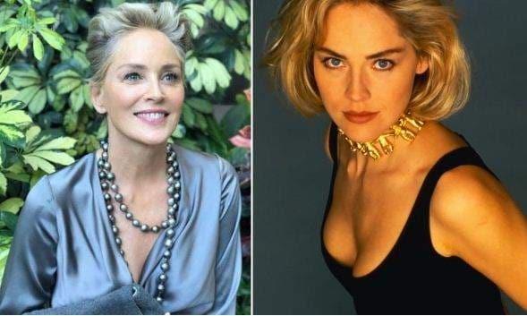 Sharon Stone Says