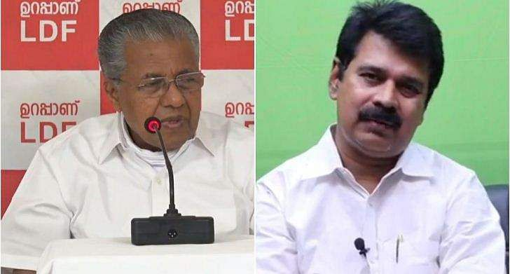 pinarayi and joice