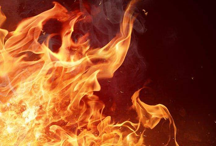man sets woman he raped 2 years ago on fire