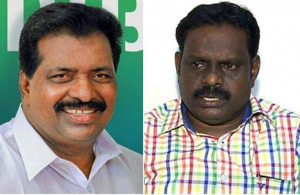 kodikkunnil suresh and kovoor kunjumon
