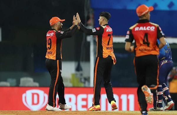 Sunrisers set a target of 151 runs