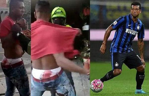 Former Inter Milan player arrested