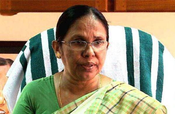 KK Shailaja's son and wife test positive
