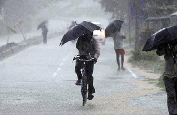 RAIN WITH THUNDERSTORM, YELLOW ALERT