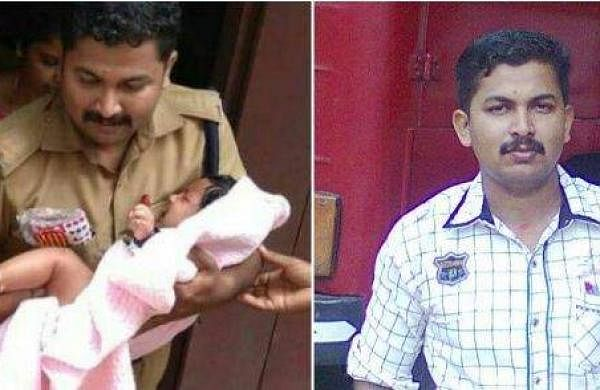 three-month-old baby was adventurously released