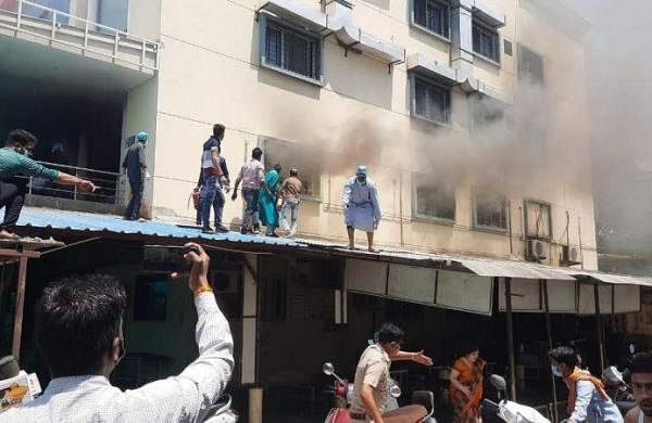 Ujjain_hospital_fire-_Express