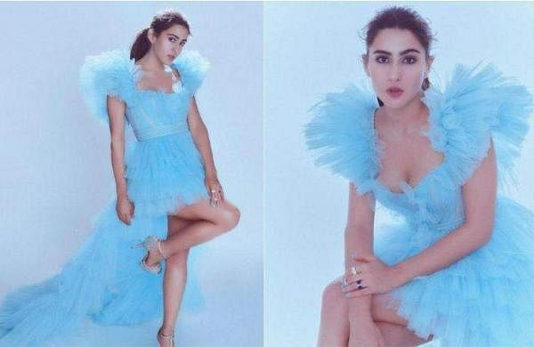 SARA_ALI_KHAN Cinderella DRESS