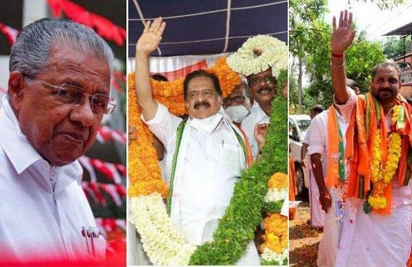 pinarayi and surendran