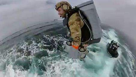 British Royal Navy Tests Jet Suits That Will Let Officers Fly
