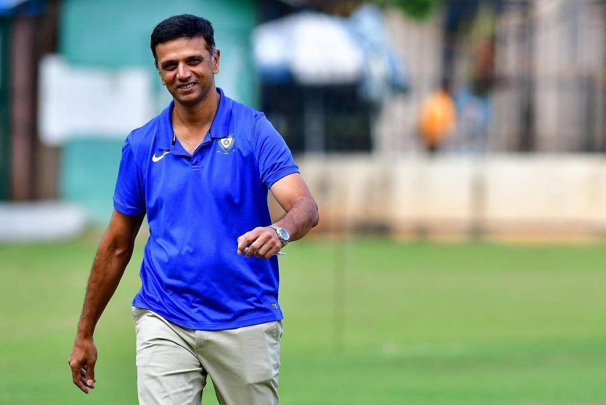 Rahul Dravid likely to coach India