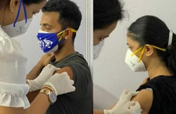 Rahane received covid vaccine