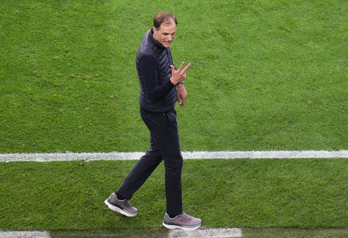 Thomas Tuchel's Lucky Pair Of Shoes
