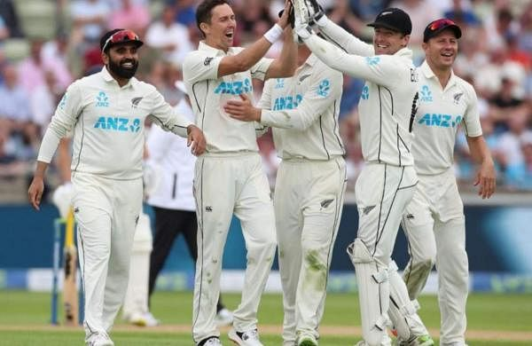 ENG 303 all out, NZ off to cautious start