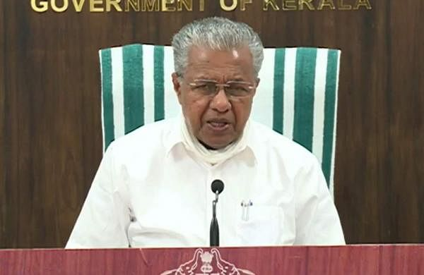pinarayi CM says covid spread in the state is declining