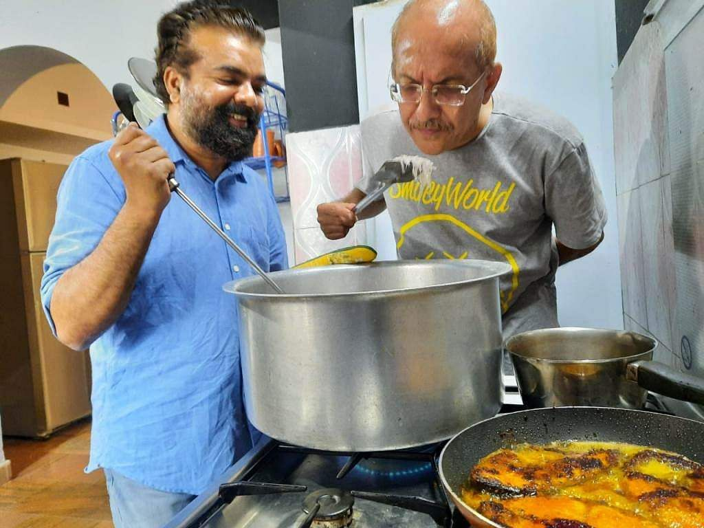 Raghunath Paleri shares his experience of Cooking