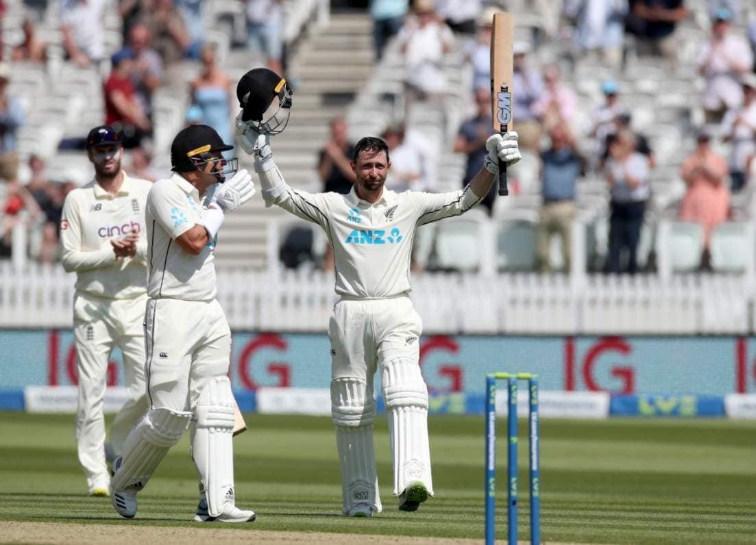 Devon Conway becomes 1st batsman