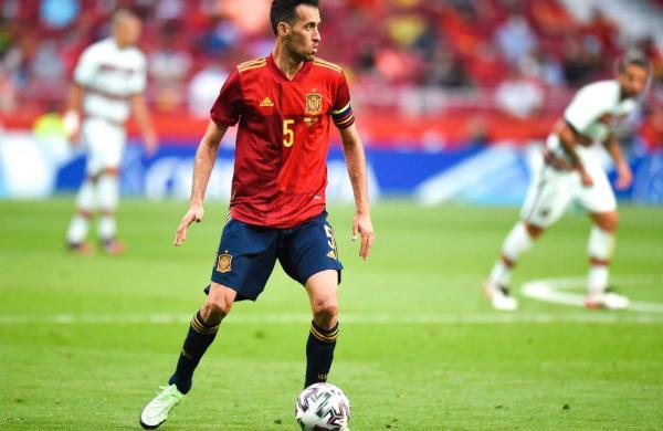 Spain captain Sergio Busquets tests positive