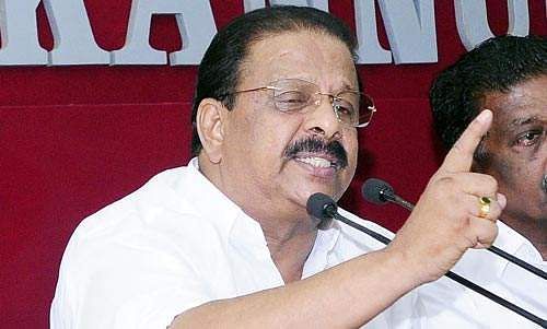 Sudhakaran to be named state president