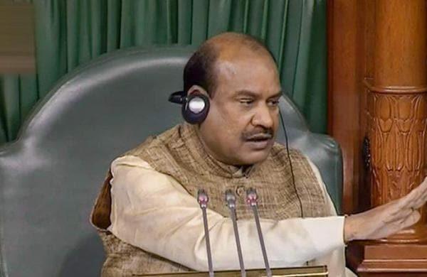 Loksabha speaker Om Birla