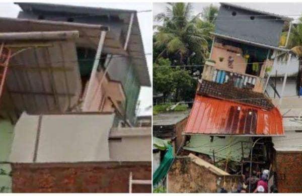 house damage in kochi
