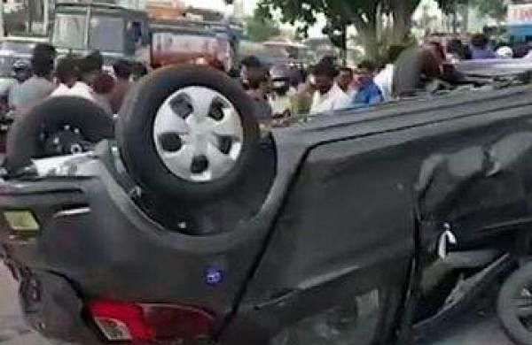 car accident in hyderabad