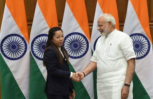 PM Modi on Chanu's silver medal win