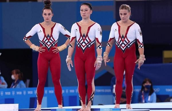 German gymnastics team