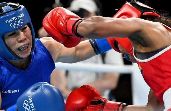 Mary Kom knocked out