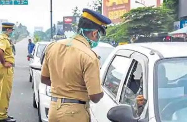 police checking in kerala