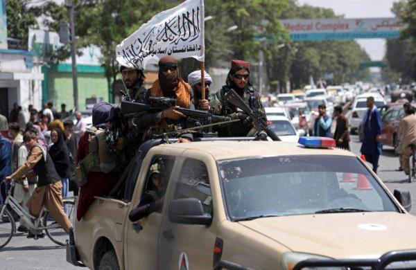 taliban patroling