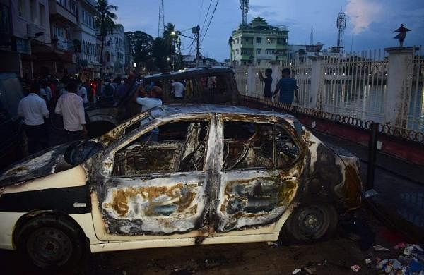 CPM PARTY OFFICES ATTACKED