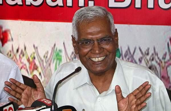 cpi state committee against d raja